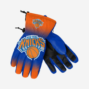 New York Knicks Big Logo Insulated Gloves - S/M
