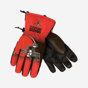 Cleveland Browns Big Logo Insulated Gloves - S/M
