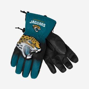 Jacksonville Jaguars Big Logo Insulated Gloves - S/M