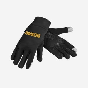 Green Bay Packers Wordmark Texting Glove