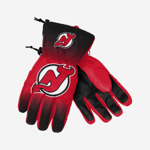 New Jersey Devils Big Logo Insulated Gloves - S/M