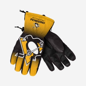 Pittsburgh Penguins Big Logo Insulated Gloves - S/M