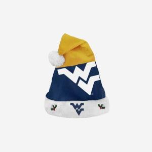 West Virginia Mountaineers Season Spirit Basic Santa Hat