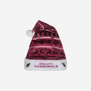 Arizona Cardinals Family Holiday Santa Hat