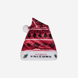 Atlanta Falcons Family Holiday Santa Hat
