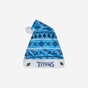 Tennessee Titans Family Holiday Santa Hat