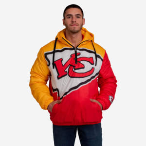 Kansas City Chiefs Tundra Puffy Poly Fill Pullover - 2XL