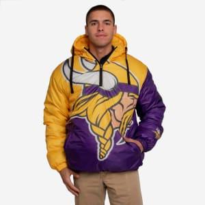 Minnesota Vikings Tundra Puffy Poly Fill Pullover - XL