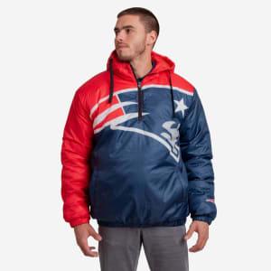New England Patriots Tundra Puffy Poly Fill Pullover - XL