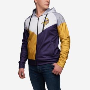 Minnesota Vikings Hooded Track Jacket