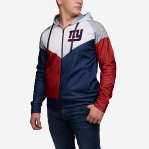 New York Giants Hooded Track Jacket - XL