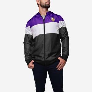 Minnesota Vikings Hooded Gameday Jacket - L