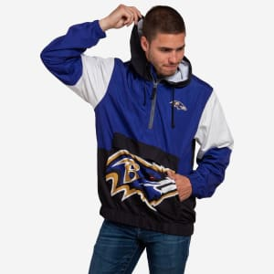 Baltimore Ravens Warm-Up Windbreaker - 2XL