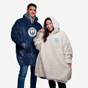 Manchester City FC Reversible Big Logo Hoodeez