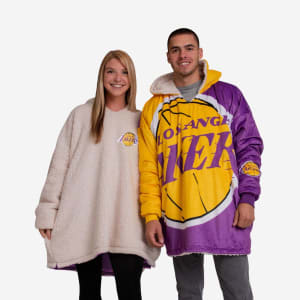 Los Angeles Lakers Reversible Colorblock Hoodeez