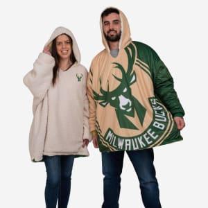 Milwaukee Bucks Reversible Colorblock Hoodeez