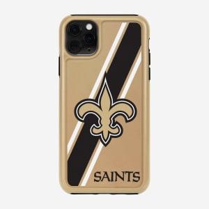 New Orleans Saints Dual Hybrid iPhone 11 Case - iPhone 11 Pro Max
