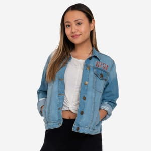 Boston Red Sox Womens Denim Days Jacket