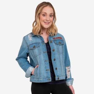 Texas Tech Red Raiders Womens Denim Days Jacket - L