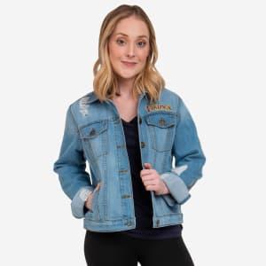Minnesota Vikings Womens Denim Days Jacket - M
