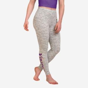 Minnesota Vikings Womens Gray Legging - M