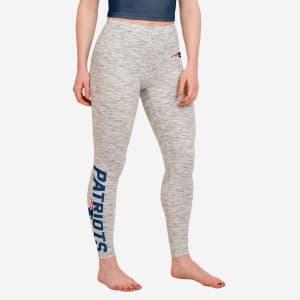 New England Patriots Womens Gray Legging - L