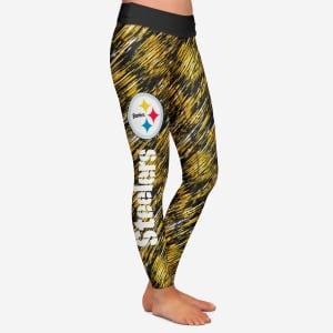 Pittsburgh Steelers Womens Static Rain Legging - XL