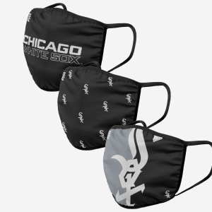 Chicago White Sox 3 Pack Face Cover - Youth