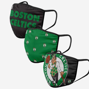 Boston Celtics 3 Pack Face Cover - Youth