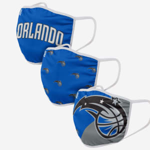 Orlando Magic 3 Pack Face Cover - Youth