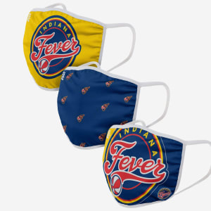 Indiana Fever 3 Pack Face Cover