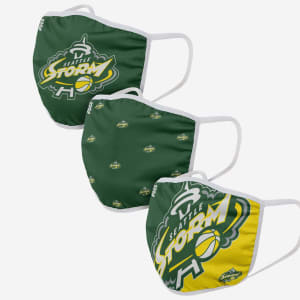 Seattle Storm 3 Pack Face Cover