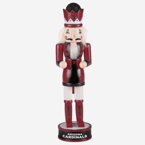Arizona Cardinals Team Spirit Nutcracker