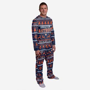 Houston Astros Family Holiday Pajamas - M