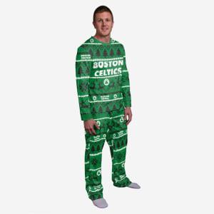 Boston Celtics Family Holiday Pajamas