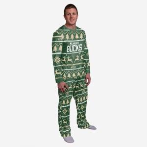 Milwaukee Bucks Family Holiday Pajamas