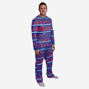 Buffalo Bills Family Holiday Pajamas - L