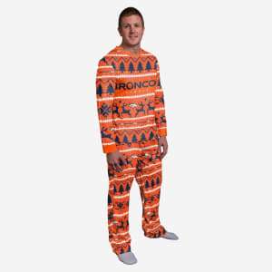 Denver Broncos Family Holiday Pajamas - XL