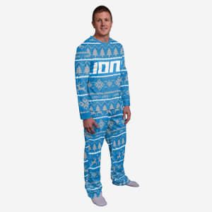 Detroit Lions Family Holiday Pajamas - 2XL