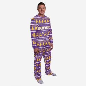 Minnesota Vikings Family Holiday Pajamas - M