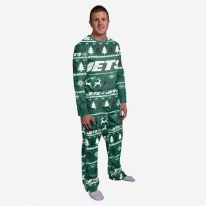 New York Jets Family Holiday Pajamas - 2XL