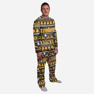 Pittsburgh Steelers Family Holiday Pajamas - L