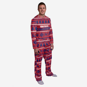 Montreal Canadiens Family Holiday Pajamas - XL