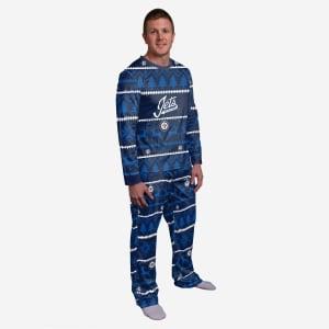 Winnipeg Jets Family Holiday Pajamas - M