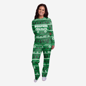 Boston Celtics Womens Family Holiday Pajamas