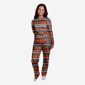 Philadelphia Flyers Womens Family Holiday Pajamas - M