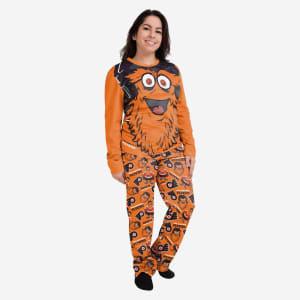Gritty Philadelphia Flyers Womens Mascot Pajamas - M