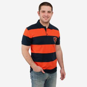 Chicago Bears Rugby Stripe Polo - XL