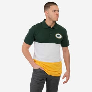 Green Bay Packers Rugby Scrum Polo - M