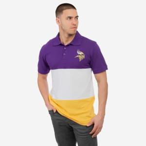 Minnesota Vikings Rugby Scrum Polo - L